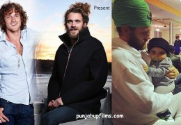 Hollywood Actor Tyler Atkins  JOINS SIKHISM
