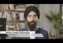 American Sikh Actor Waris Singh Ahluwalia promote sikh identity on American media