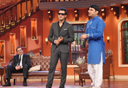 "Comedy Nights with Kapil is in Trouble with the team of  Punjabi movie "" Double Di Trouble"