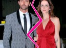 <b>Hrithik and Susanne Rosha...</b>