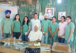 The Team of Green ThinkerZ Society Visited Pingalwara