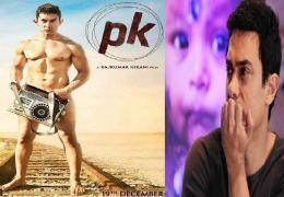 Aamir Khan defended himself over the nude poster
