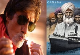Amitabh Bachchan in a role as a Sikh for Indo-Canadian film