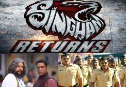 """Singham Returns"" Movie Review"