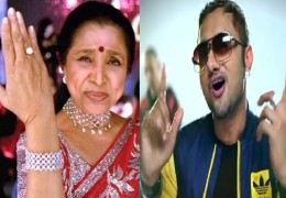 Asha Bhosle has insulted yo yo Honey Singh