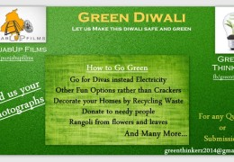 """GREEN DIWALI"" by Green ThinkerZ and PunjabUp Films"