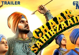 Chaar Sahibzaade  3D animation movie on Sikh history releasing worldwide on November 6th, 2014