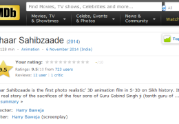 Char Sahibzaade becomes the highest rated featured film in 2014 as per the IMDb