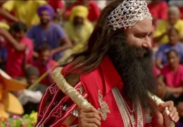 "Banned Gurmeet Ram Rahim controversial movie "" THE Messenger of God"" in Australia"