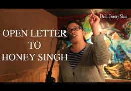 Female rapper open letter to Yo Yo Honey Singh in Delhi
