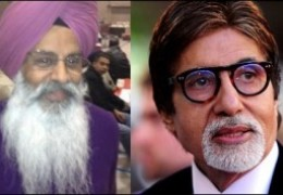 Canadian Sikh leader shots letter to Bollywood actor Amitabh Bachhan accusing him for Sikh genocide 1984
