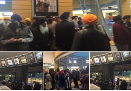 Sikhs protest out against Nanak Shah Fakir Movie in Birmingham