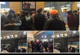 Protest in Birmingham by Sikh community against movie 'Nanak shah Fakir'