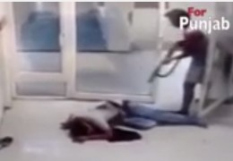 One died: Camera records LIVE Firing in Hospital (video)