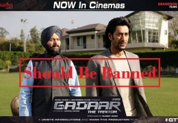 U.H.R.O demanded 'Gadaar The Traitor' movie should be banned