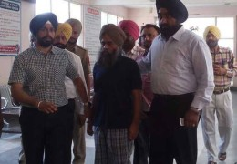 Prof. Devender Pal Singh Bhullar shifted to Amritsar jail under heavy security
