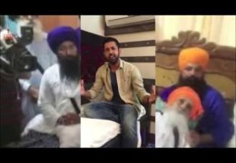 Punjabi Singer/Actor Gippy Grewal in support of ‪Bapu Surat Singh‬ Khalsa