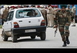 Blast at Dinanagar police station , site of Monday's encounter Gurdaspur
