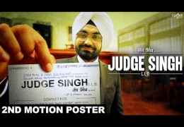 Judge Singh LLB – 2nd Motion Poster l Movie Releasing On December 4th, 2015
