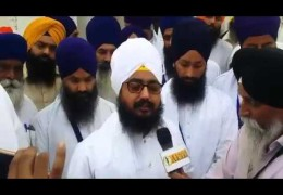 Bhai Ranjit Singh Dhadrianwale | March from Fatehgarh Sahib to Chandigarh