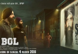 Punjabi Movie 2 Bol Releasing In Canada On 4 March 2016