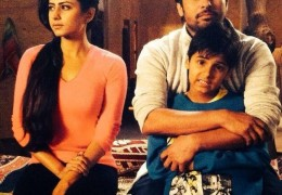 Two Kids on the sets of Love Punjab: Manvir Johal & Sargun Mehta