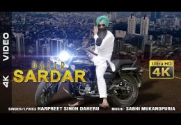 "Latest Punjabi Song(Video) ""DALER SARDAR"" By HARPREET SINGH DAHERU"