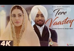 Satinder Sartaaj's song 'Tere Vaastey' released (Video)