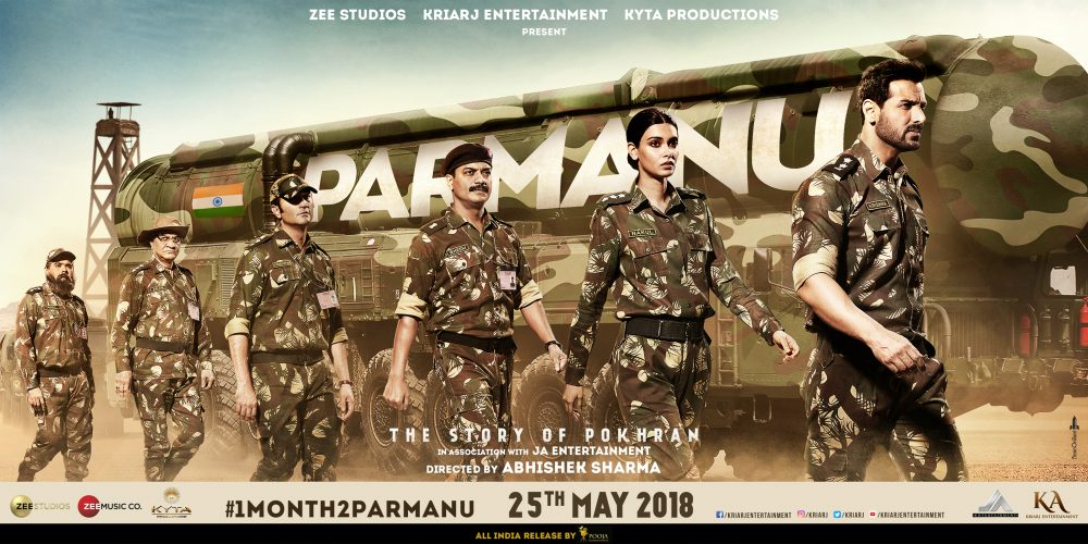 Parmanu– The Story of Pokhran to Release on 25th May, 2018