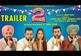 "Gippy Grewal's Punjabi Movie ""Carry On Jatta 2"" Trailer Released"